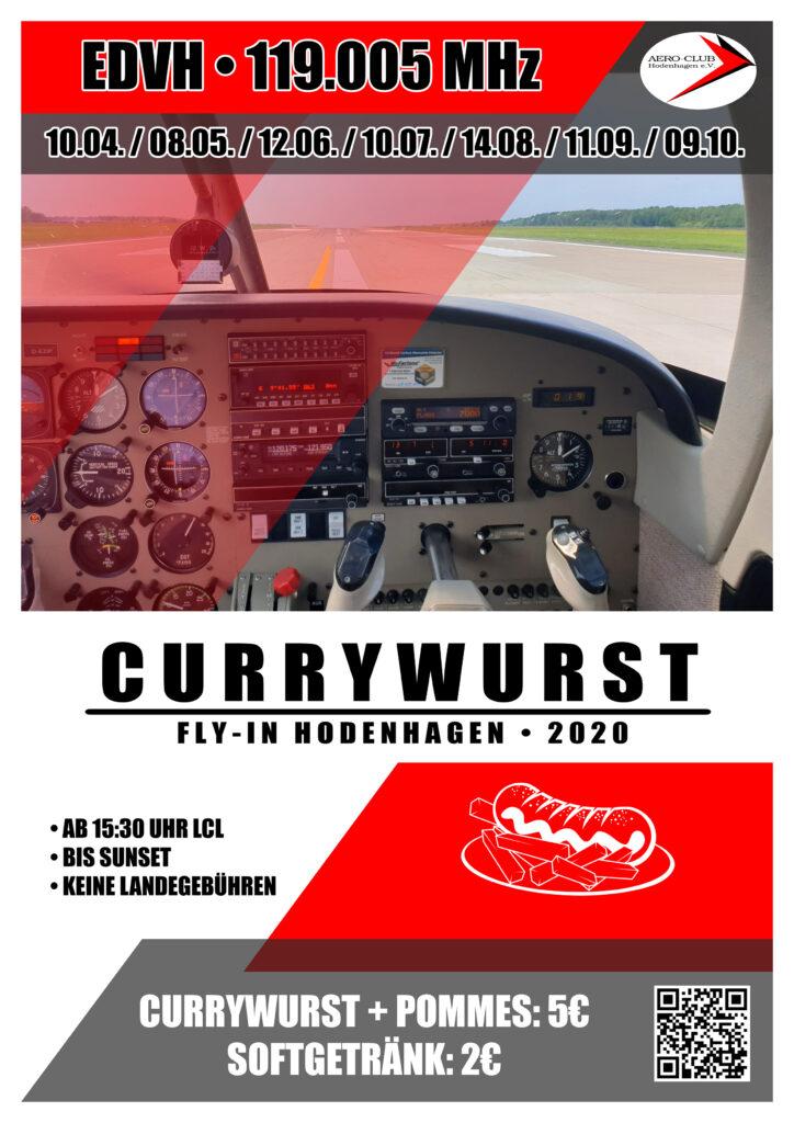 Currywurst Fly-In Hodenhagen Flyer